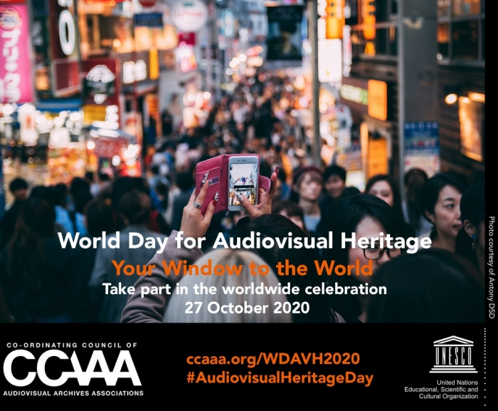 2020 World Day for Audiovisual Heritage
