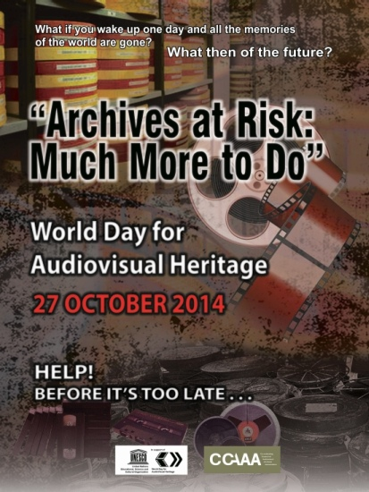 World Day for Audiovisual Heritage 2014